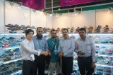 The client from UAE come to visit us in Canton Fair