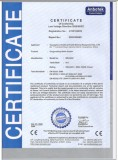 CE CERTIFICATE OF BW-8000 OXYGENATING WATER IONIZER