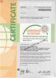 Confidence in Textiles - OekoTex Standard 100 BEMO 054116