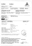 TUV CERTIFICATE of TOGGLE SWITCH