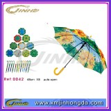 Sun Umbrella, Creative Heat Transfer Printing Straight Umbrellas (JHDS0006)