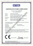 POS Monitor CE Certificate