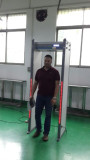 Jordan Customer visit V finder factory for hotel use walk through metal detector