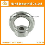 Stainless Steel DIN582 Lifting Eye Nut Ring M20 2400 Lbs Capacity Grade 316 Ss