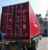 Heavy parts shipped by sea