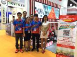 Our employees of 2015 Shanghai Fair