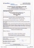 ACS certificate for hose (page 1)