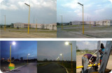 Integrated Solar Street Light in Spain