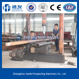 Workers are in-process drill pipe