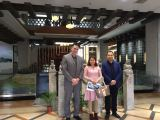 American customer visiting in 9Fang Cultural Center