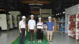 Russian Customers Visited Dated August , 2016 for APA-160ton Press Machine