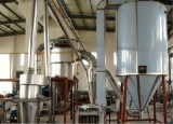 The type and working principle of the spray drying equipment is respectively
