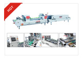 two folder XCS-650 pill case ,LED box automatic folder gluer machine