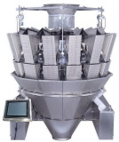 14 heads dimpled buckets weigher