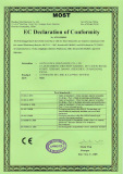 CE Certificate for filling and capping system