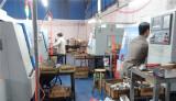 CNC machine in factory