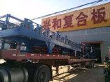 Loading the machine to Tunisia