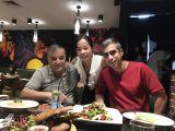 in Shanghai meeting customer