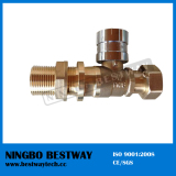 Brass Extension Lockable Ball Valve