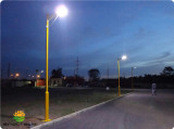 Integrated Solar Street Light in Vietnam