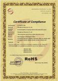 ROHS Certificate for Mini Dp/Dp Cable