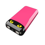 8000mAh New Power Bank with Twinkling Cat Eyes Mobile Phone Battery Charger