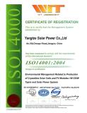 Solar Panel ISO 14001