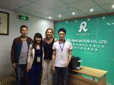 Australia client visit our company