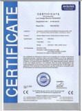 CE CERTIFICATE OF BW -6000 WATER IONIZER
