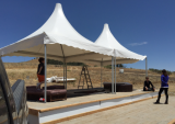 pagoda tent 5x5m