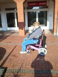 JBH electric wheelchair for old people