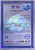 CE Certificate For SC-WC11 RGB Controller