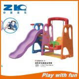 indoor playground plastic slide for children