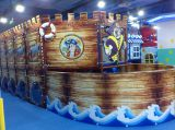 Pirate style indoor playground equipment for sale