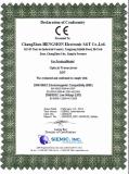 CE certificate of DDT series