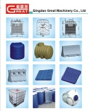 Our machine can produce water tanks and so on