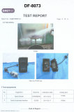 Test Report of waterprooft-DF-8073