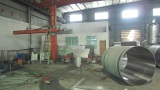 automatic welding machine and pressure vessel testing