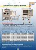 Turntable blasting cabinets