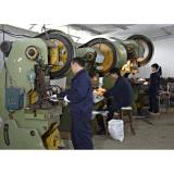 Workshop of hardware of overhead power transmission line