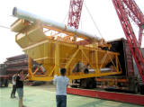 HZS90 concrete batch plant was shipped to Indonesia in July 2017
