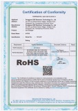 ROHS certification of CC-01