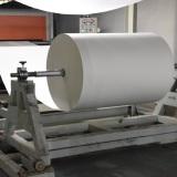 The slitting the jumbo roll