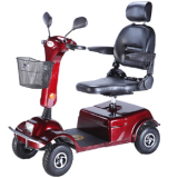 Folding 4 wheel electric scooter carry 2 people