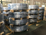 Wood cutting band saw blade cargo loading.