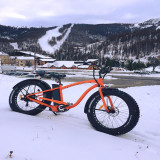 Snow Fat Tire Electric Bike In France