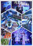 April18-19th Aegean, with their enthusiasm shake the CMEF Shanghai