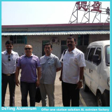 Panasonic Visit DongGuan DeYing Aluminum Facotry
