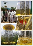 Solar insect killer are used in India &Pakistan widely.It is welcomed by farmers.