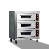 Hot sale pizza oven(triple-layer six-tray)